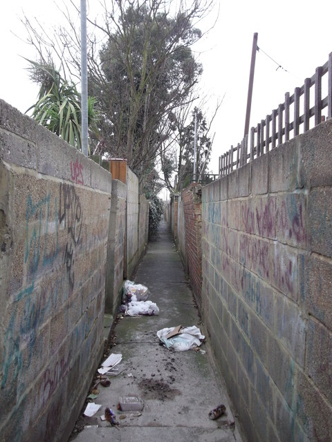 Alleyway in Gillingham