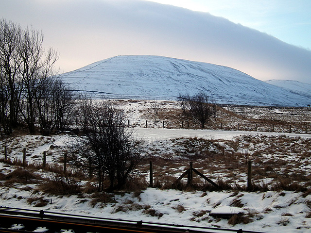 Park Fell viewed from Ribblehead Station