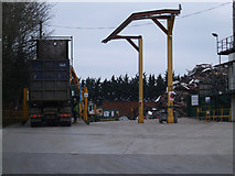 SU1686 : Weighbridge, EMR scrap yard, Gipsy Lane by Vieve Forward