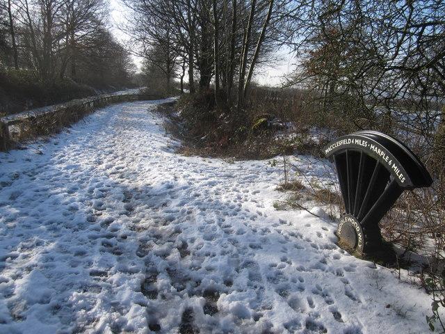 Middlewood Way at Barton's Clough, Adlington