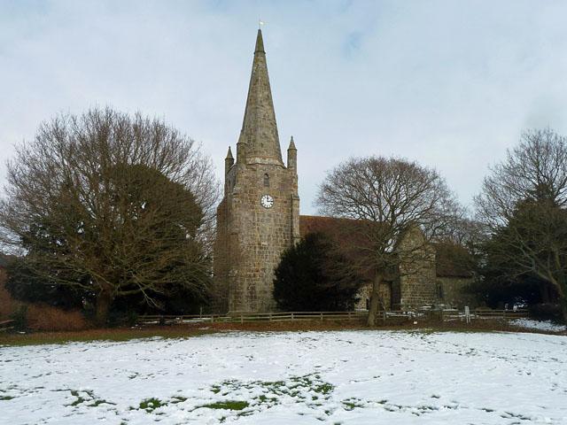 Chiddingly church