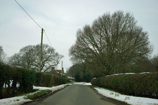 Highlands Lane nearing Whitesmith Lane