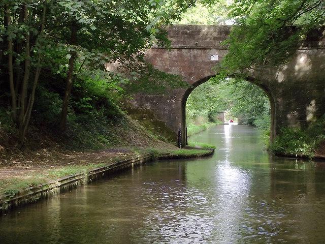 Wood Eaton Bridge south of Gnosall, Staffordshire