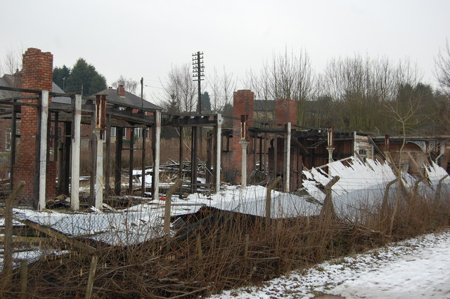 Remains of Central Station