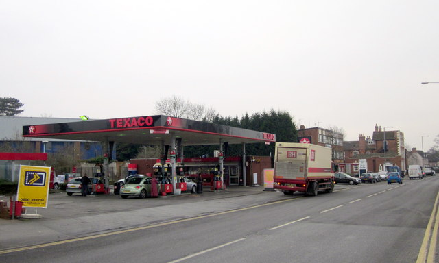 Bromsgrove Redevelopment - Texaco Garage Due to be Demolished