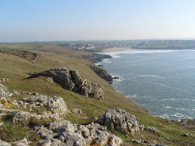Pentire Point on the North Cornish Coast