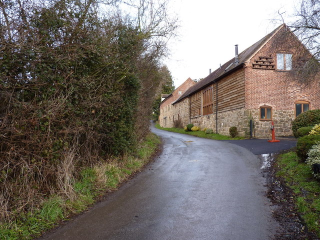 Barn conversions at Castlehill
