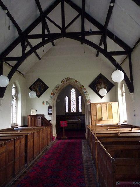 St Mary's church interior