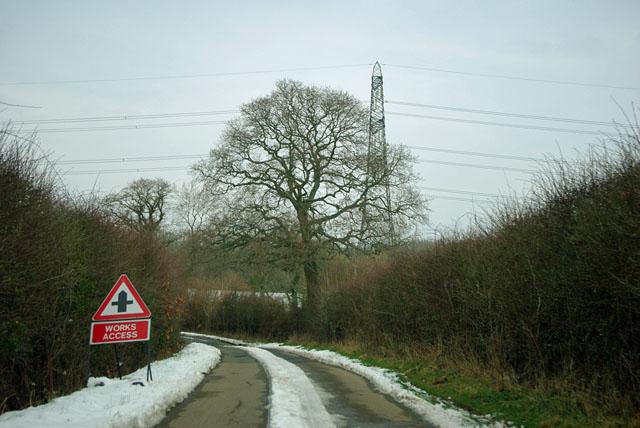 Works access on Graywood Lane