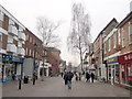 SO9570 : Bromsgrove High Street trees to be cut down by Roy Hughes