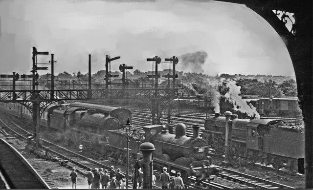 Summer Saturday excitement at Preston in 1950