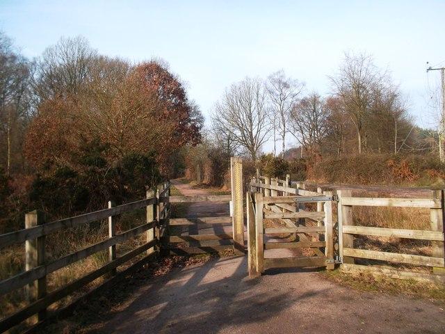 Cycleway Gate near New Fancy