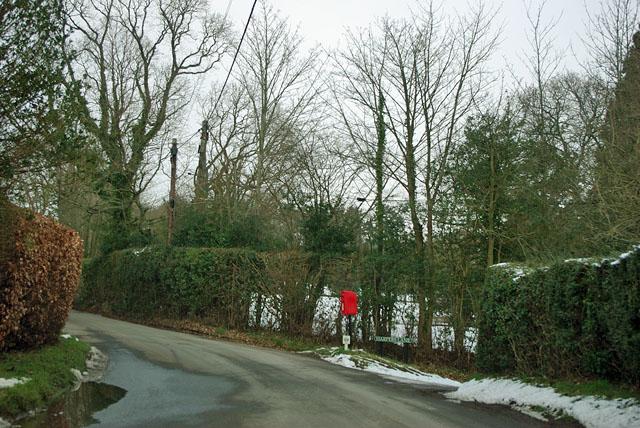 Post box at the corner