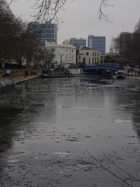 Little Venice from Rembrandt Gardens W2