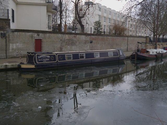 'Lionheart', Regent's Canal