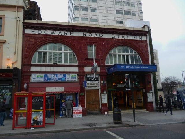 Edgware Road Underground Station, Edgware Road NW1