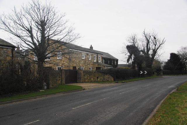 New housing at Yew Tree Farm