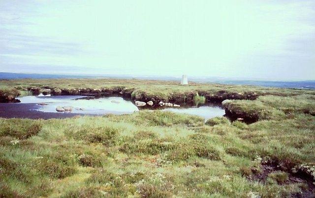 Triangulation pillar, Knock of Braemoray