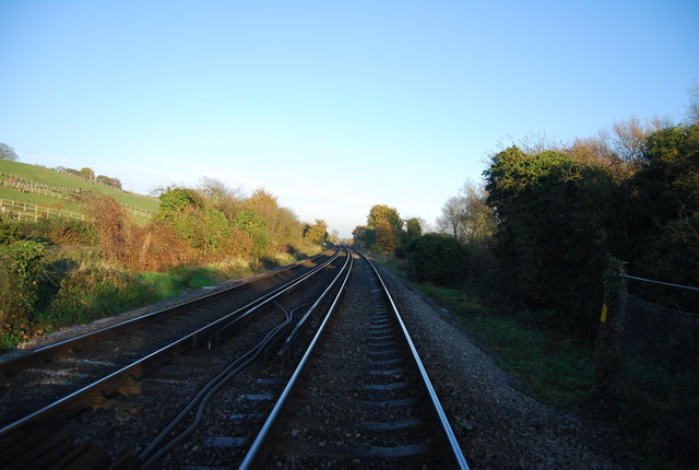 Railway line to Ramsgate