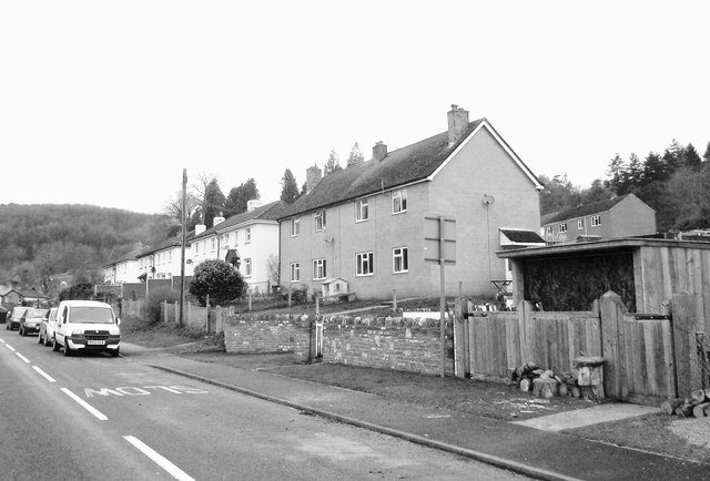 Houses in Upper Soudley