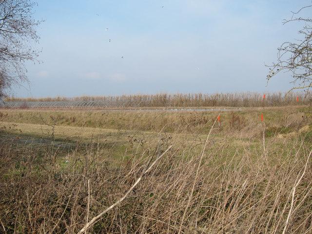 New farm reservoir
