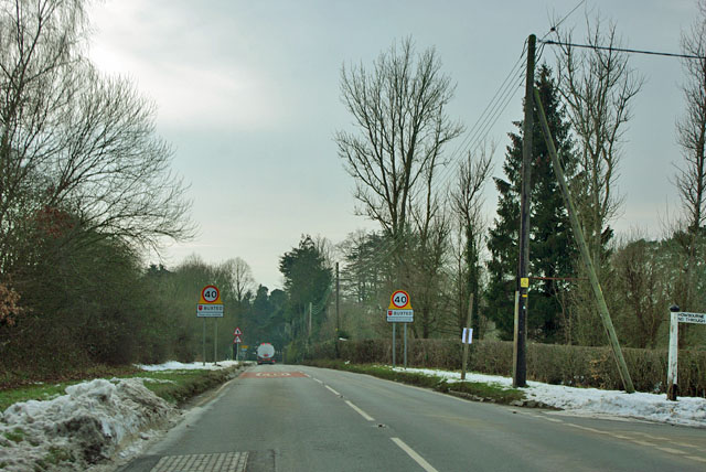 Entering Buxted