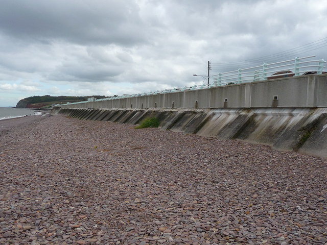 Blue Anchor - Sea Defences