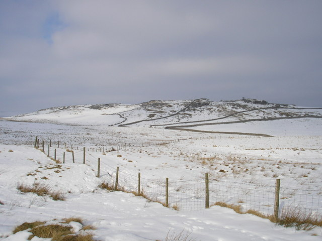 Malham Moor in the snow