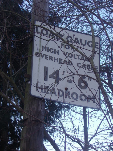 Pre-Worboys level crossing sign, Roydon