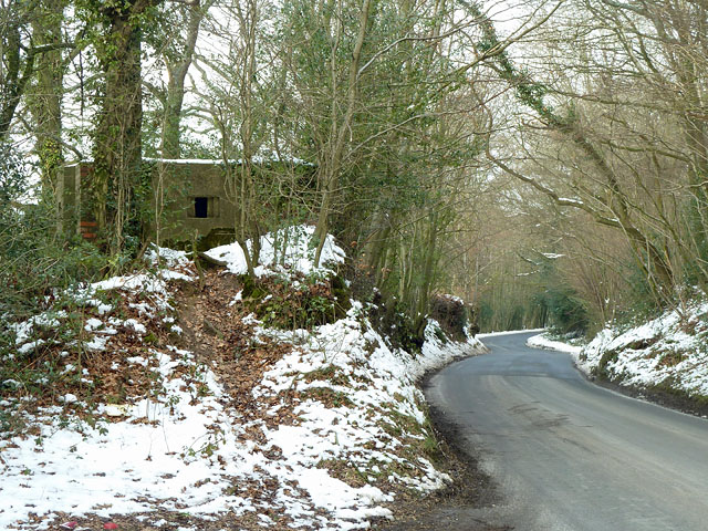 Pillbox by Hadlow Down Road