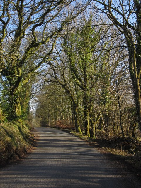 Road on Hackpen Hill