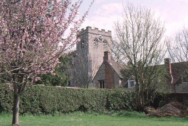 Ewelme church