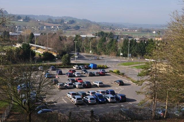 Tiverton : Exe Valley Leisure Centre Car Park