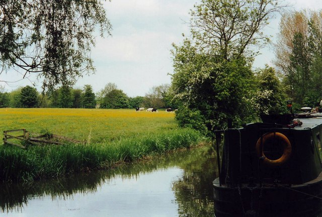 The Oxford Canal at Cropredy
