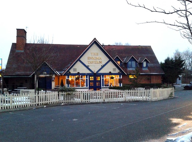 The Enigma Tavern in Bletchley