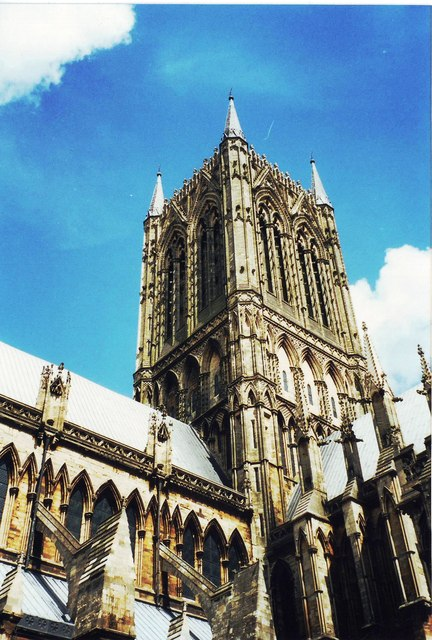 Central tower, Lincoln Cathedral
