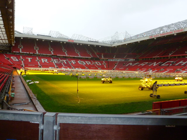 Inside Old Trafford, MUFC Stadium