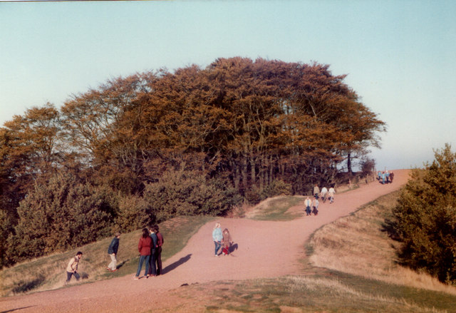 Clent Hills, Path Along The Top