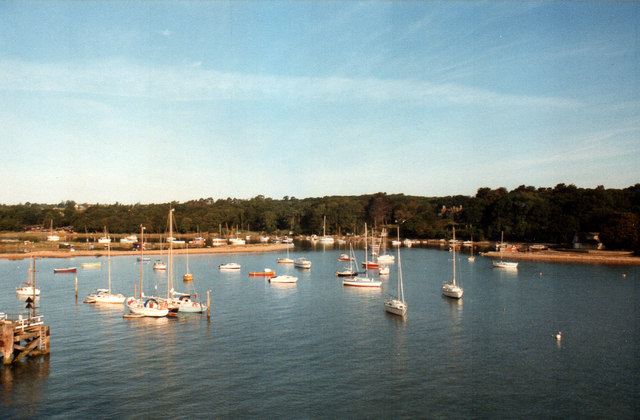 Leaving Fishbourne by Ferry 1984