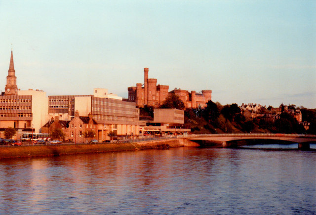 River Ness in Inverness, 1984
