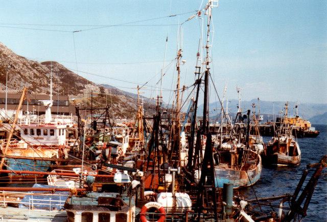 Kyle of Lochalsh Harbour 1984
