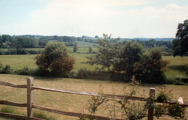 Senlac Field From Battle Abbey