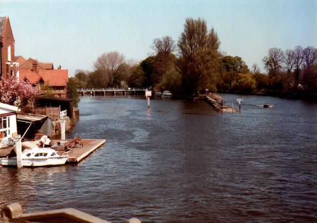 Windsor View From Bridge 1984