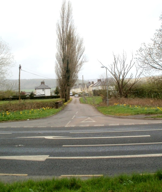 Road north to Trewen, Monmouthshire