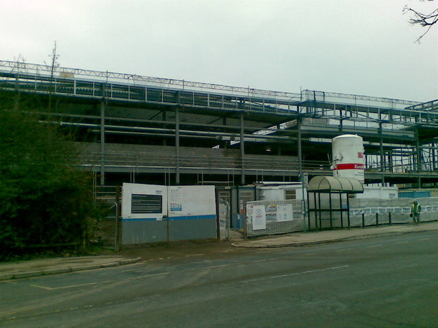 New Leisure Centre under construction