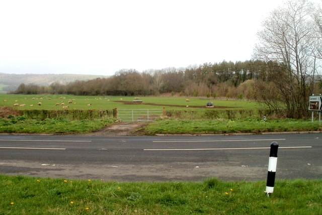 Field on the north side of the A48 near Caerwent