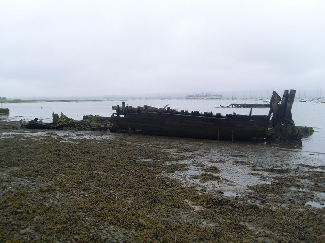 """Whip"" - what remained of the port hull and stern in August 2008"