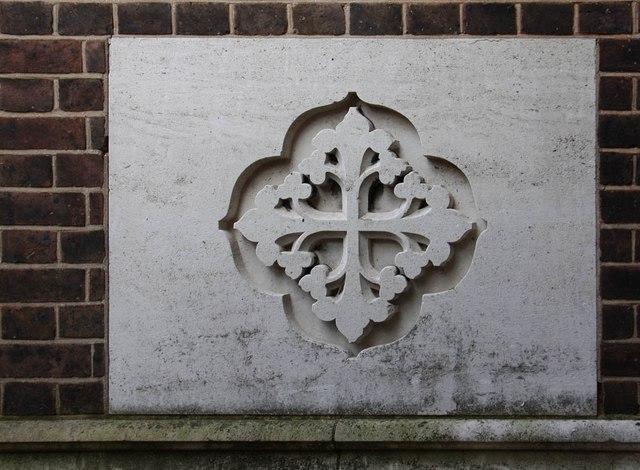 St Barnabas, Gorringe Park Avenue, Mitcham - Cross