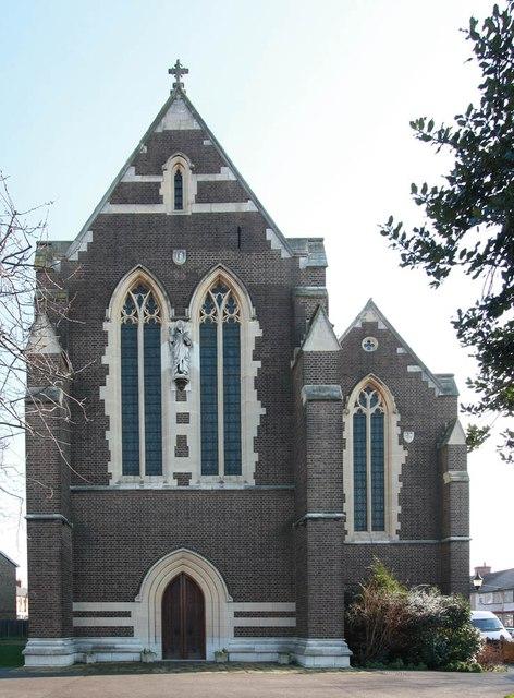 St Barnabas, Gorringe Park Avenue, Mitcham