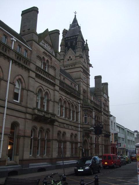 Nottingham & Notts. Bank, Head Office, Thurland Street, Nottingham